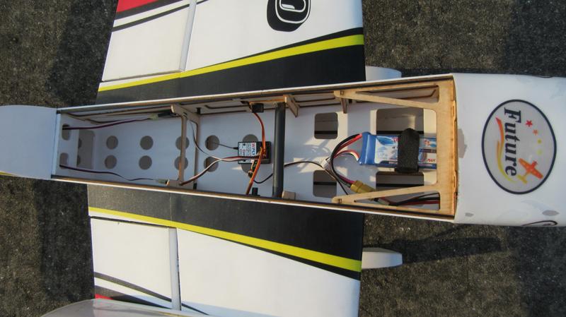 Slick 540 48inch 30E 01A PP 1230mm Wingspan 3D Aerobatic RC Airplane Kit