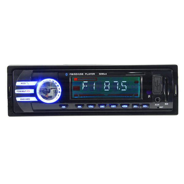 Buy Car In-Dash Bluetooth Stereo Audio FM Radio Aux Input Receiver SD USB MP3 Player