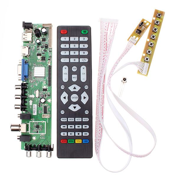 Z VST 3463 A1 Support Digital Signal DVB-C DVB-T/T2 With 7 Key Button Switch