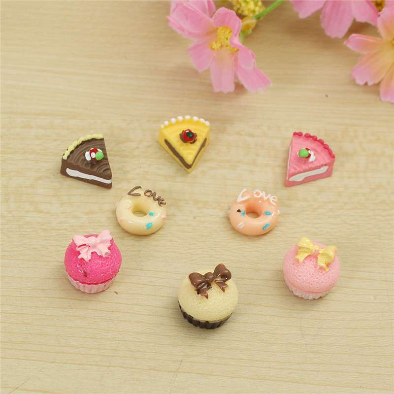 Buy 1/12 Cute Dollhouse Miniature Kitchen Food Cakes Creative Kids Play Set Doll House Accessories