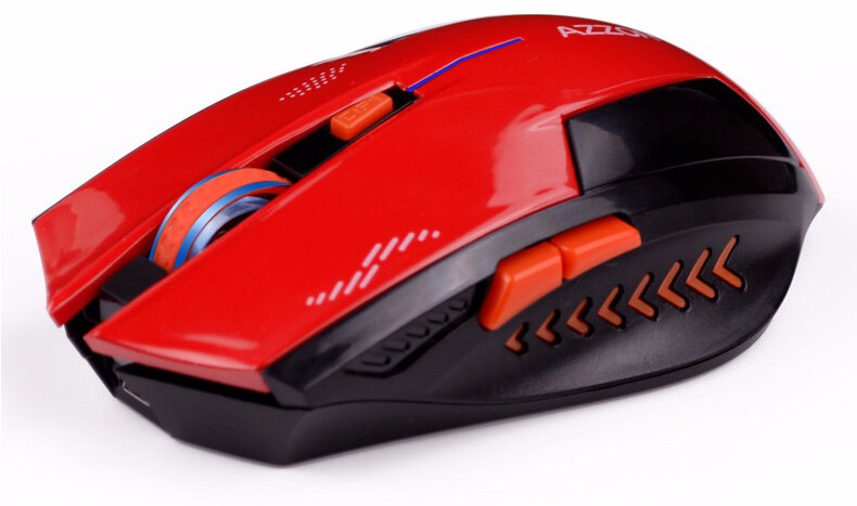 Azzor Wireless 2400DPI 2.4GHz Silence Ergonomic Laser Gaming Rechargeable Mouse
