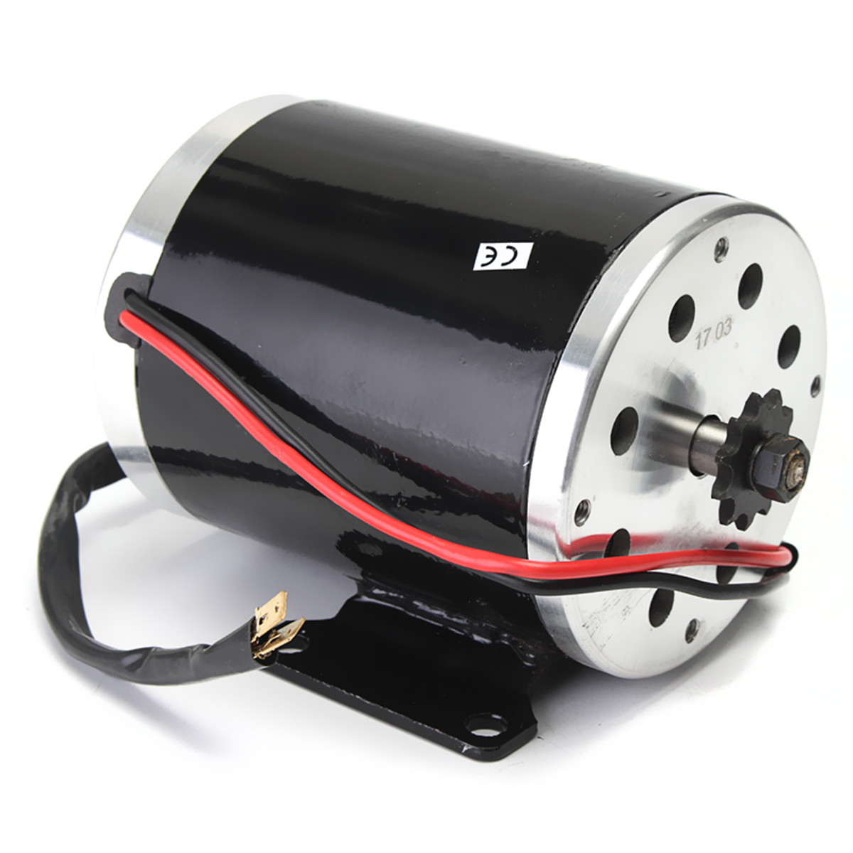 24v 500w 28 5a Electric Brushed Motor 2800rpm W Bracket