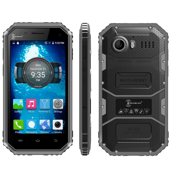 Buy Ken Xin Da PROOFINGS W6 4.5 Inch 4G LTE IP68 Waterproof Six Proofings Smartphone