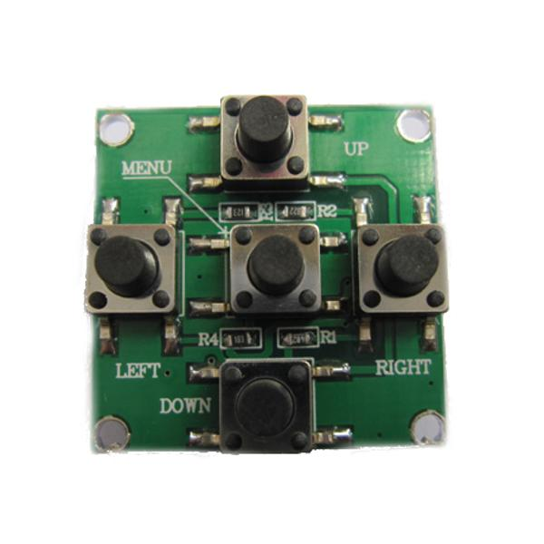 DC12V OSD Board Menu Parameter Adjustment Plate for HS1177 EFFIO-E FPV Camera - Photo: 2