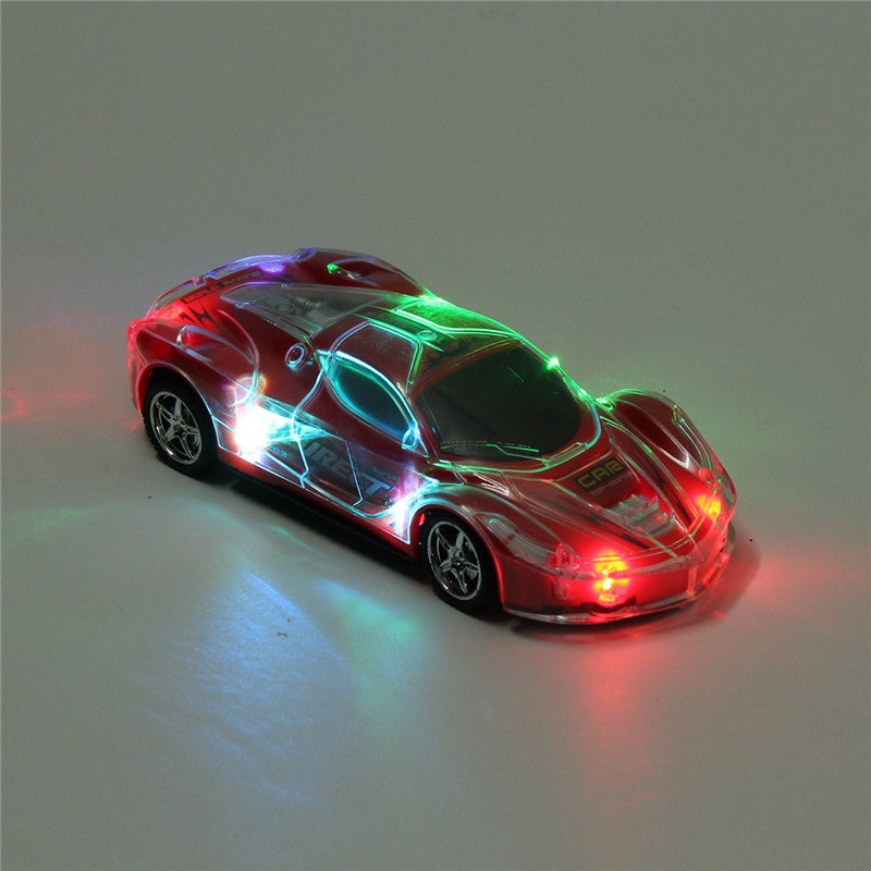Bocai Toys 1/24 27MHZ Super Speed RC Racing Car With 3D Flashing LED Light Music