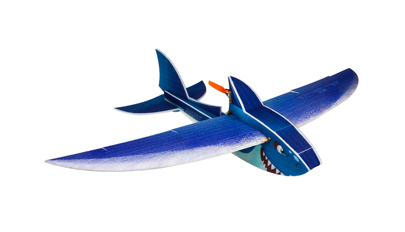 DW Hobby Mini Shark 1000mm Wingspan EPP RC Airplane