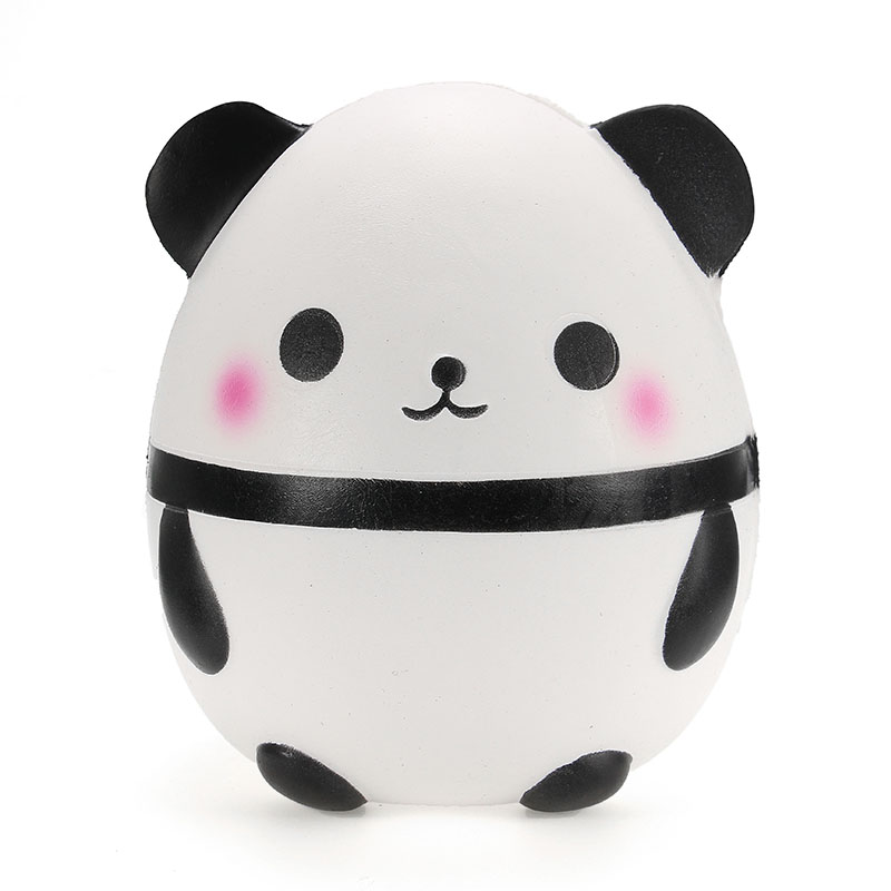 Squishy Collection Squishy : Squishy Panda Doll Egg Jumbo 14cm Slow Rising With Packaging Collection Gift Decor Soft Squeeze ...