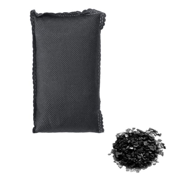 Bamboo Activated Charcoal Bag Air Purifying Freshener Odor Remove Deodorizing For Car Home Office