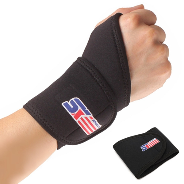 neoprene weight lifting gym wrist support strap wrap bandage thumb brace hand protector at banggood. Black Bedroom Furniture Sets. Home Design Ideas