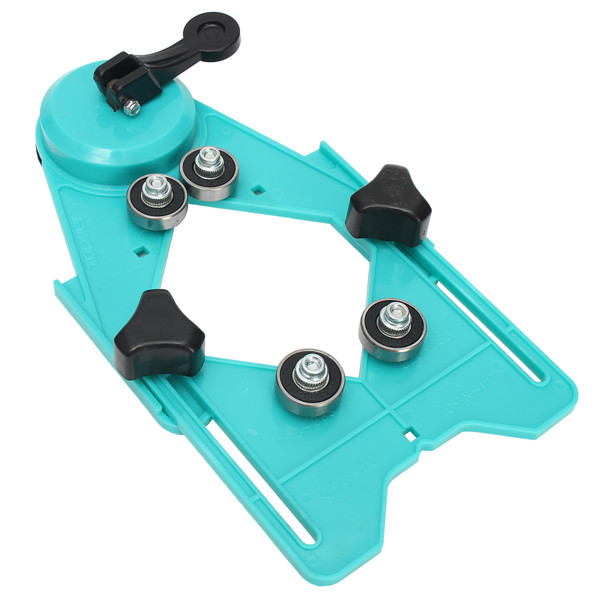 4mm-12mm Adjustable Glass Tile Hole Saw Drill Guide Locator Openings Sucker Base