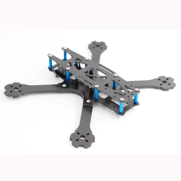 A-max Standar-II 220mm Wheelbase 4mm Arm Carbon Fiber FPV Racing Frame Kit 110g
