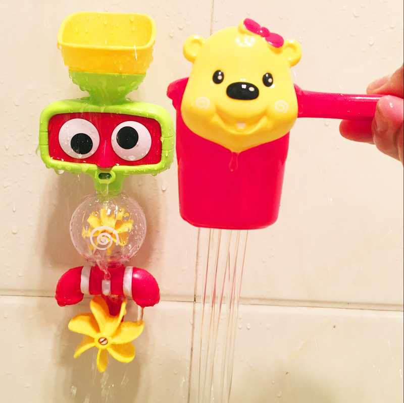 Portable Bath Water Sprinkler System Toy Children Lovely Play Toy - Photo: 4