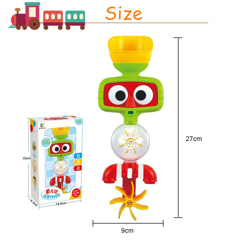 Portable Bath Water Sprinkler System Toy Children Lovely Play Toy - Photo: 9