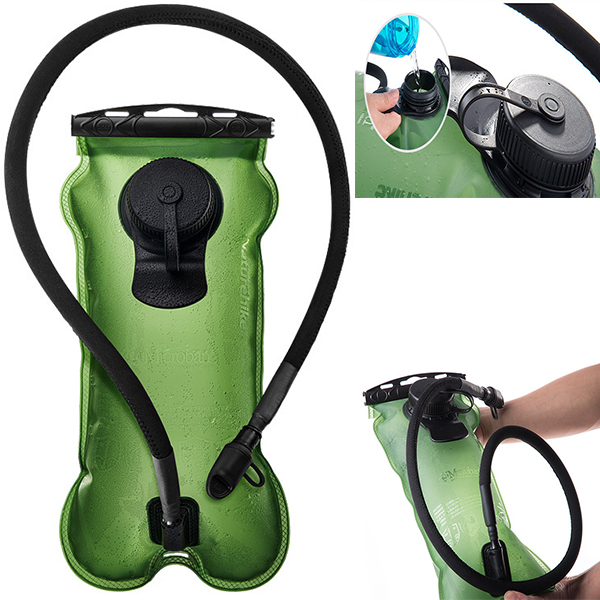 Naturehike 3L Drinking Water Bag Portable Bladder Bag Hydration For Camping Hiking Mountaineering