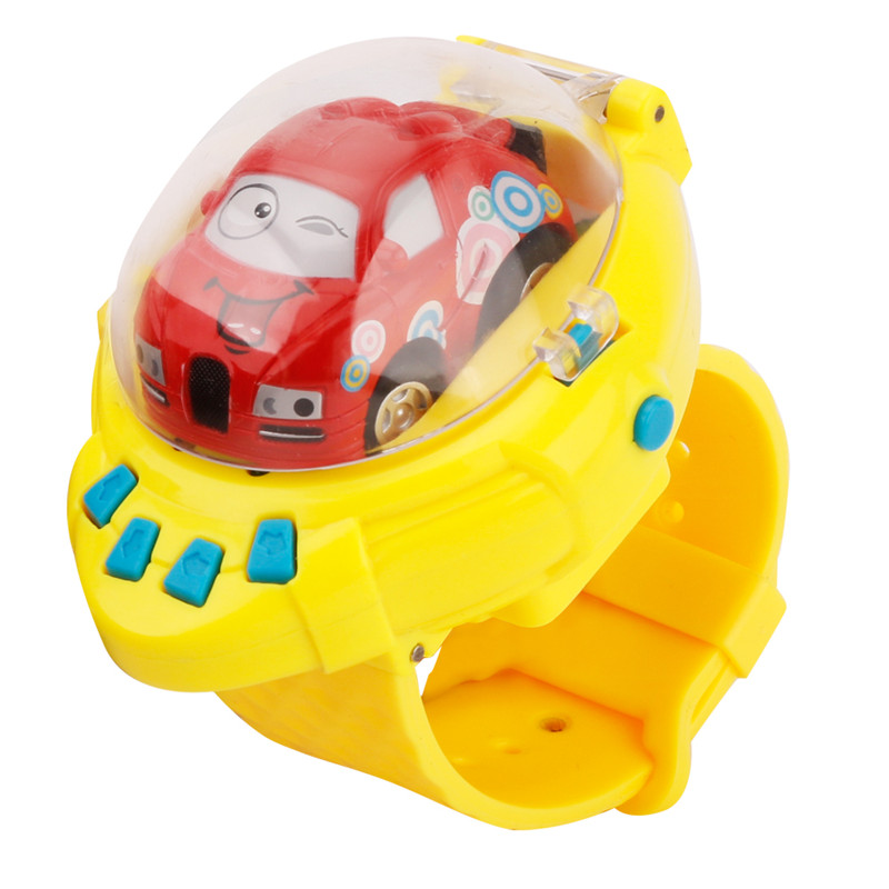 Mini 4 Channels Smart Watch G-Sensor Control RC Cars Toys For Children