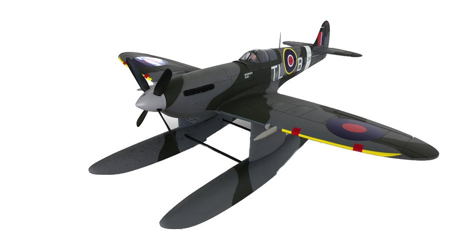 Dynam Supermarine Spitfire MK.VB 1200mm Wingspan EPO Seaplane RC Airplane PNP