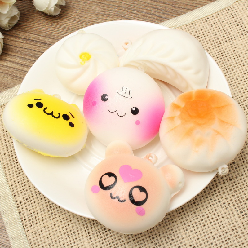 Squishy Toy Collection : 13PCS Simulation Cute Soft Squishy Super Slow Rising Ball Chain Kid Toy Collection Sale ...