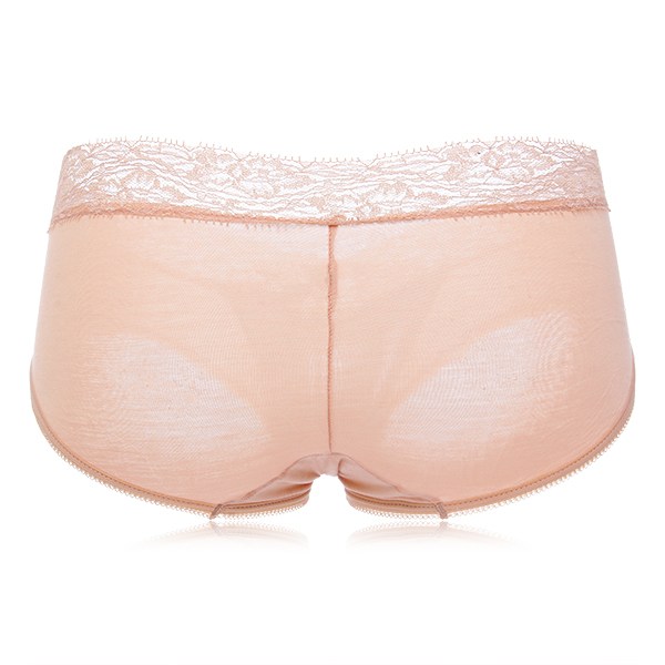 Women Sexy Lacy Magneto Therapy Hips Up Soft Cozy Breathable Modal Elastic Panties Briefs
