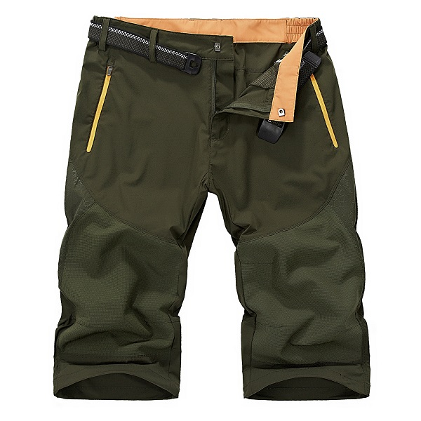 Spring Summer Mens Outdoor Quick-drying Causal Shorts Sports Beach Cropped Fifth Trousers