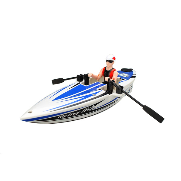 Buy Great Wall 2311 2.4G RC Boat Canoeing Color Random
