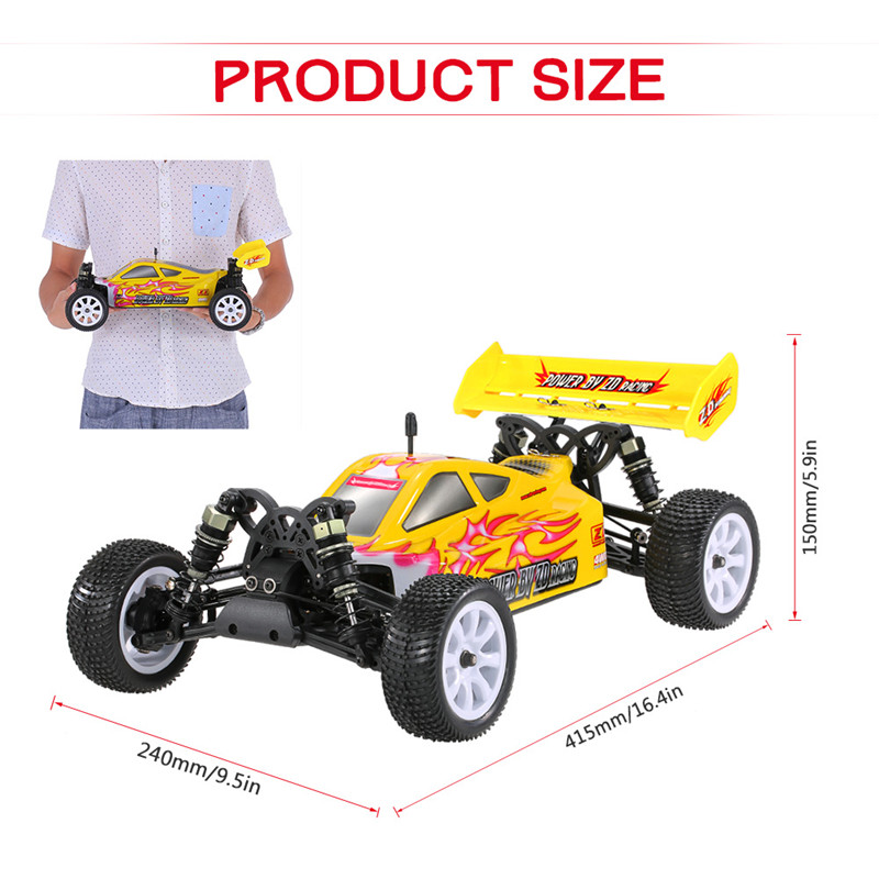 ZD Racing 9102 Thunder B-10E DIY Car Kit 2.4G 4WD 1/10 Scale RC Off-Road Buggy Without Electronic Parts