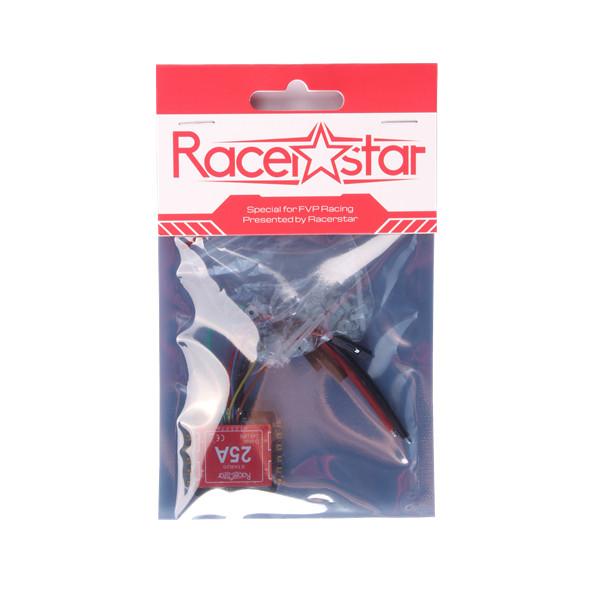 20x20mm Racerstar Star25 25A BLHELI_S 2-4S 4in1 Brushless ESC Dshot600 Ready