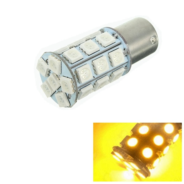 150BAU15s/PY21W 5050 27SMD LED Car Turn Signal Light Ta