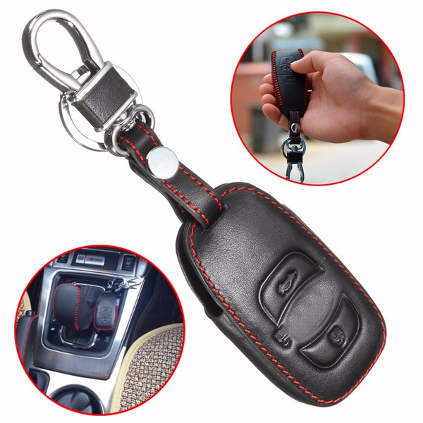 Leather Car Case Cover Holder for Subaru Forester Legac