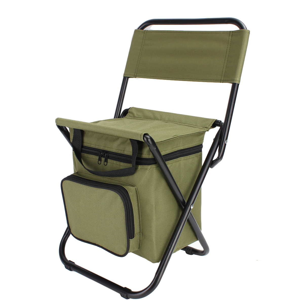 IPRee Outdoor Camping Folding Beach Chair Picnic BBQ St