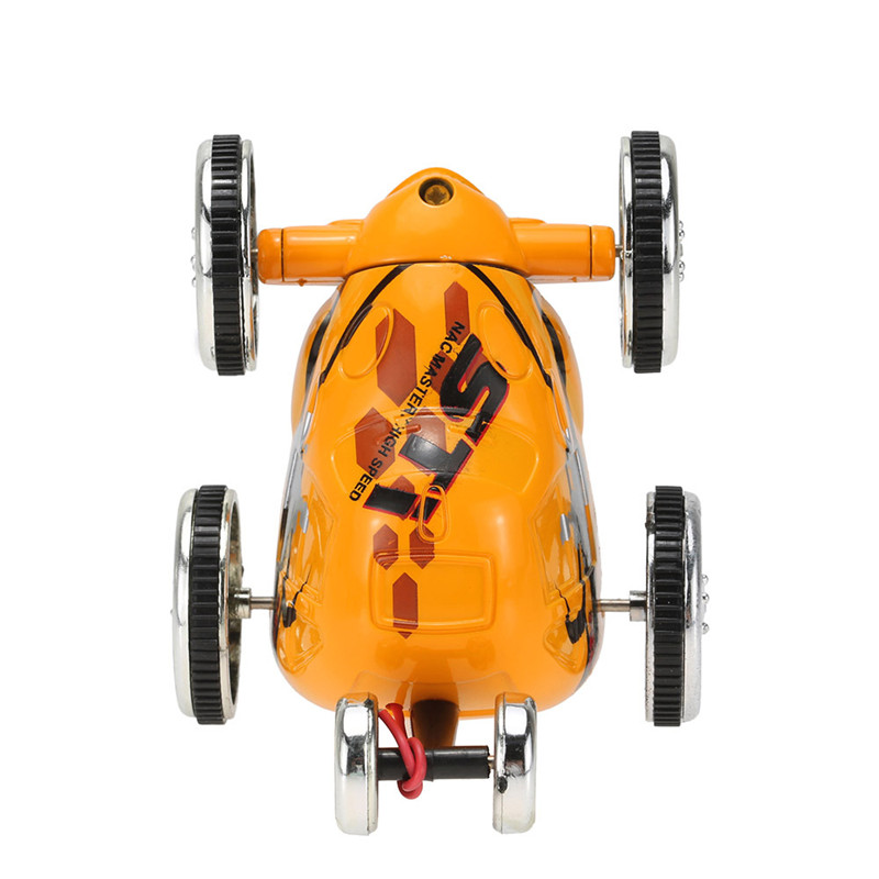 Flytec 2512B 3CH 27MHZ 40MHZ 35MZH Mini Stunt RC Car 360 Degree Rolling Rotating Wheel Vehicle Toys