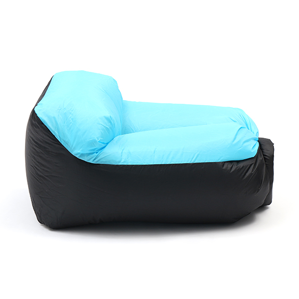IPRee® Portable Mini Pillow Lazy Sofa Air Fast Inflatable Beach Chair Seat  Couch Max 400kg