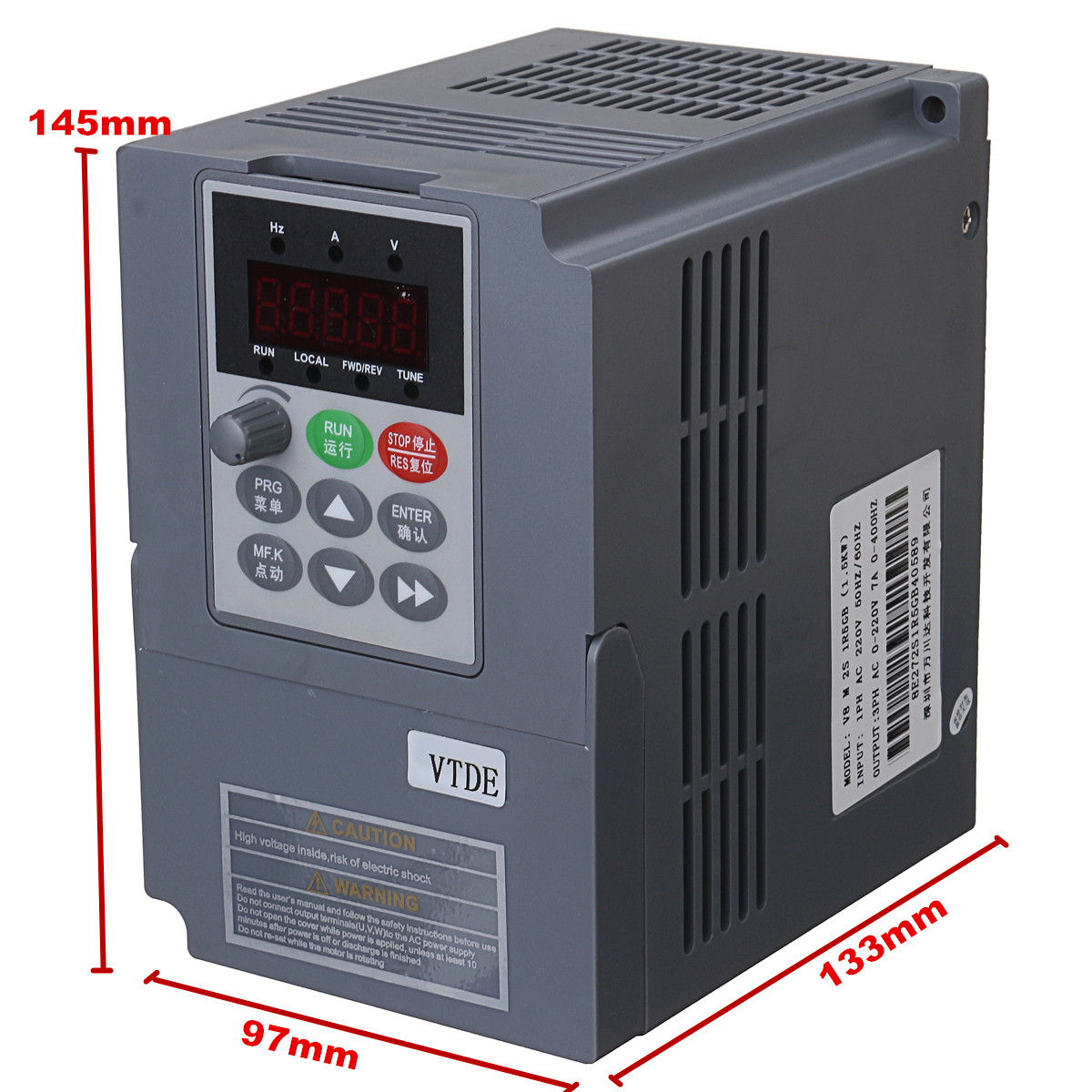 Single Phase Inverter : Kw v ac a single phase variable frequency inverter