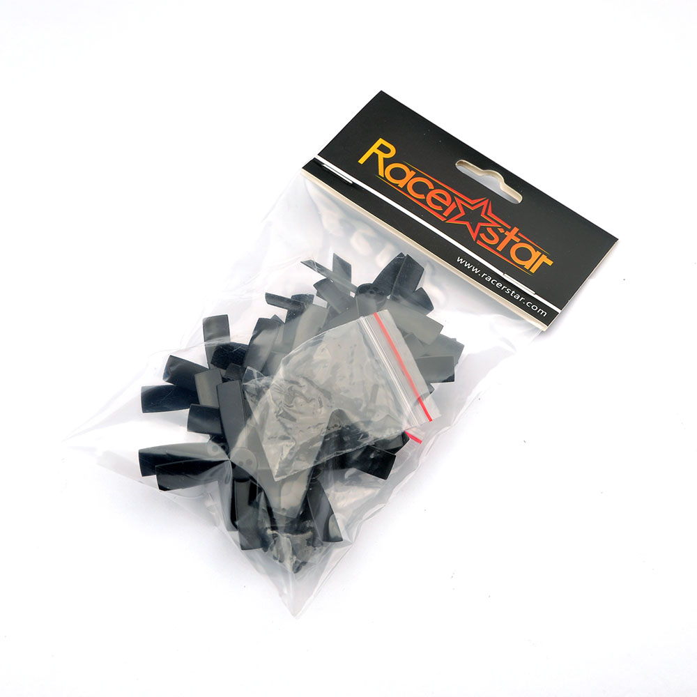 10 Pairs Racerstar 2035 50mm 4 Blade ABS Propeller 1.5mm Mounting Hole For 80-110 FPV Racing Frame  - Photo: 6