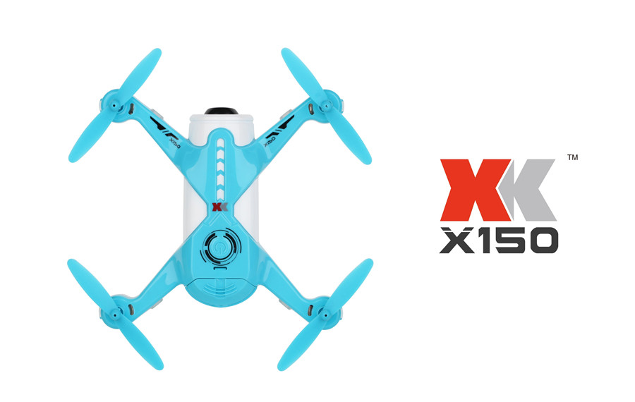 XK X150-W X150W WiFi FPV With 720P Camera Optical Flow Positioning Altitude Hold RC Drone Quadcopter
