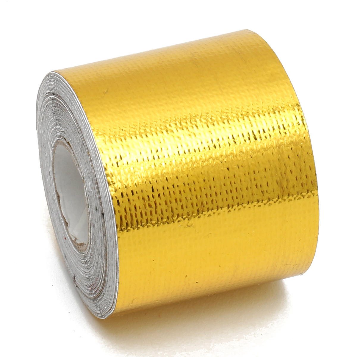 Buy 5cmx10m Heat Cool Reflective Tape 500 Degree Gold Protection