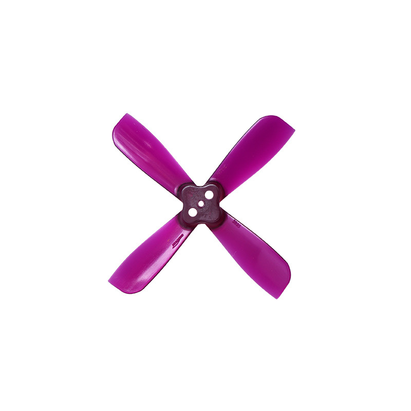 10 Pairs Gemfan 2035 2X3.5X4 4 Blade 1.5mm Mounting Hole CW CCW FPV Racing Propeller Purple - Photo: 4