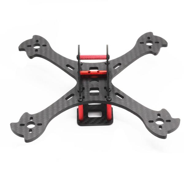 Enslaver 180 180mm Wheelbase 4mm Arm Carbon Fiber Racing Frame Kit - Photo: 5
