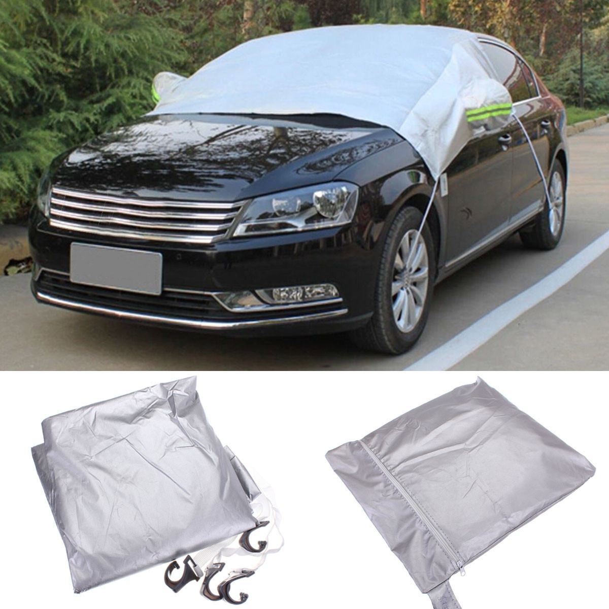 Buy Magnet Car Windshield Cover Prevent Snow Ice Sun Dust Frost Freezing Protector