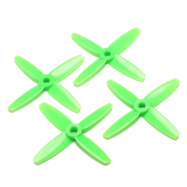 2 Pairs Gemfan 3035 4 Blade CW/CCW  PC Propeller For 1306 Motors Mini RC Multirotor - Photo: 3