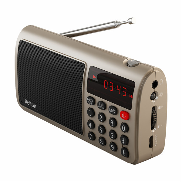 Buy Rolton T50 Portable World Band Speaker FM/MW/SW Stereo Radio With MP3 Player Support SD/TF Card