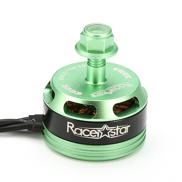 4X Racerstar Racing Edition 2205 BR2205 2300KV 2-4S Brushless Motor Green For 210 X220 FPV Racing - Photo: 4