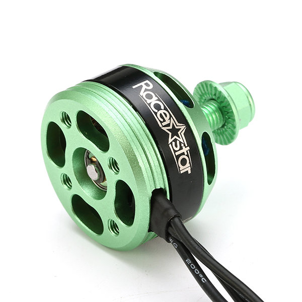 4X Racerstar Racing Edition 2205 BR2205 2300KV 2-4S Brushless Motor Green For 210 X220 FPV Racing - Photo: 7