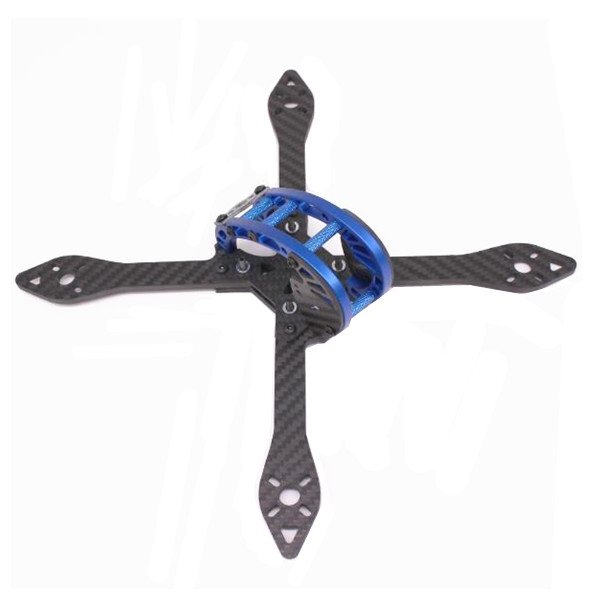 PUDA O210 210mm 4mm Arm 3K Carbon Fiber X Type Racing Frame Kit
