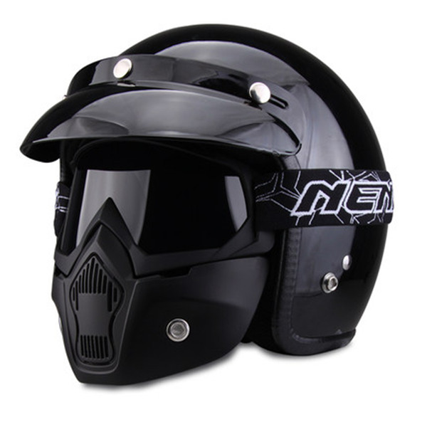 Buy Motorcycle Helmet Four Seasons Semi-covered Helmets For Harley