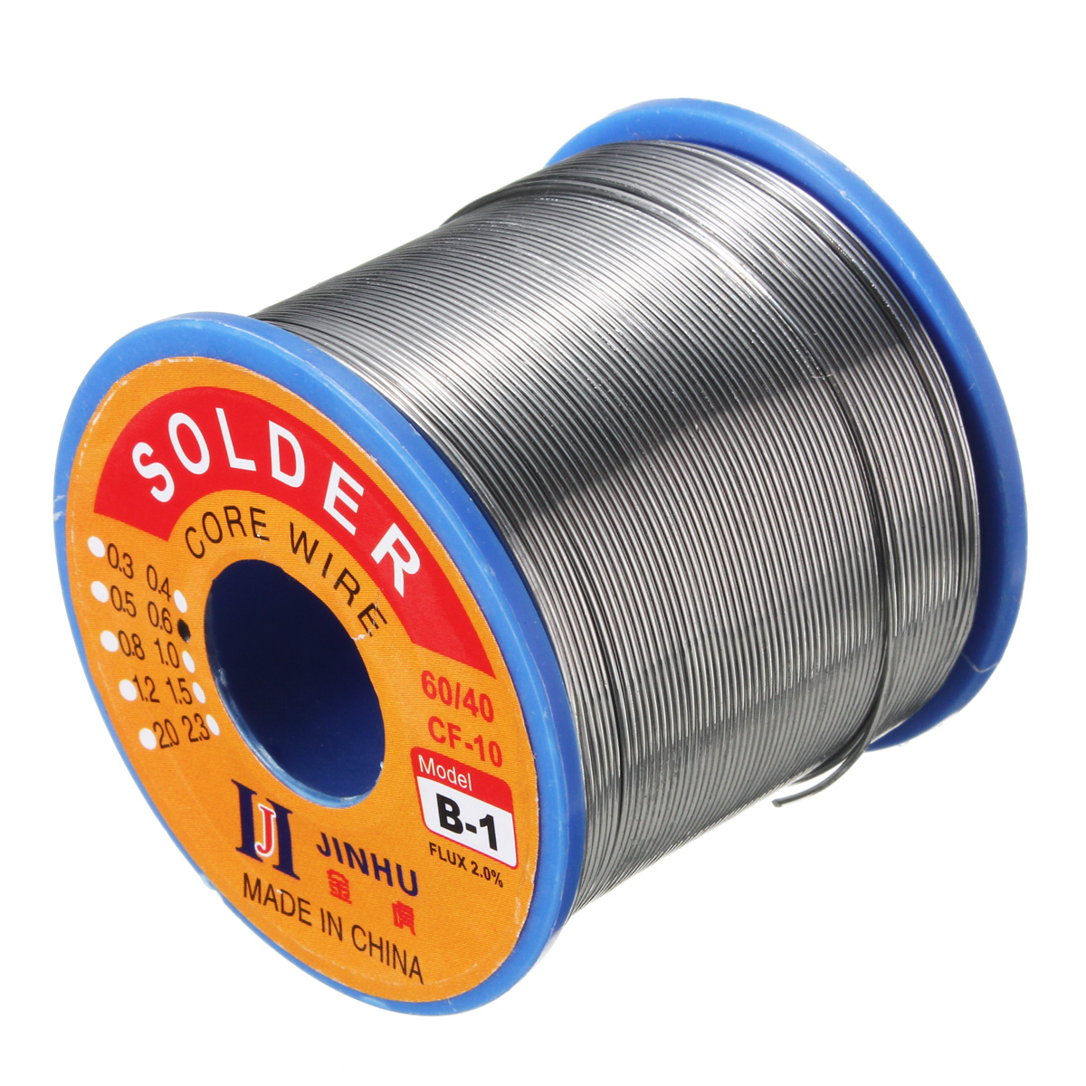400g 0.6mm 60/40 Tin Lead Line Rosin Core Flux Solder W