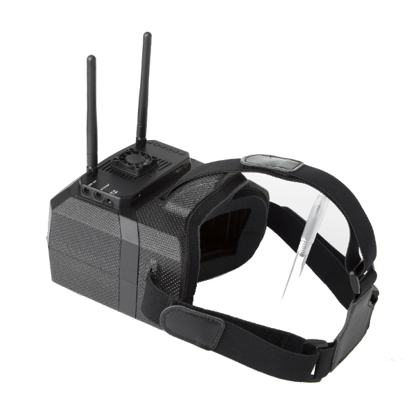 Skyzone GS500 5.8G 48CH Raceband Diversity FPV Goggles 5 Inches 800*480 HDMI Video Glasses - Photo: 7