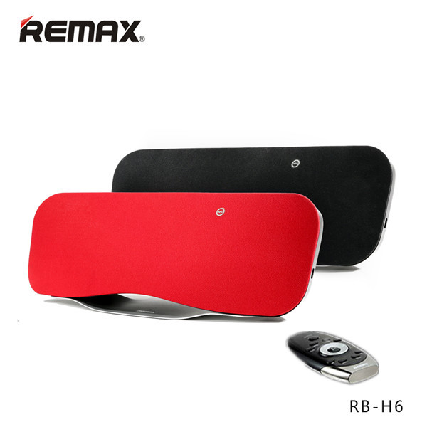 Buy REMAX RB-H6 3D Stereo DSP Sound Remote Control Wireless Bluetooth Speaker With NFC Mic