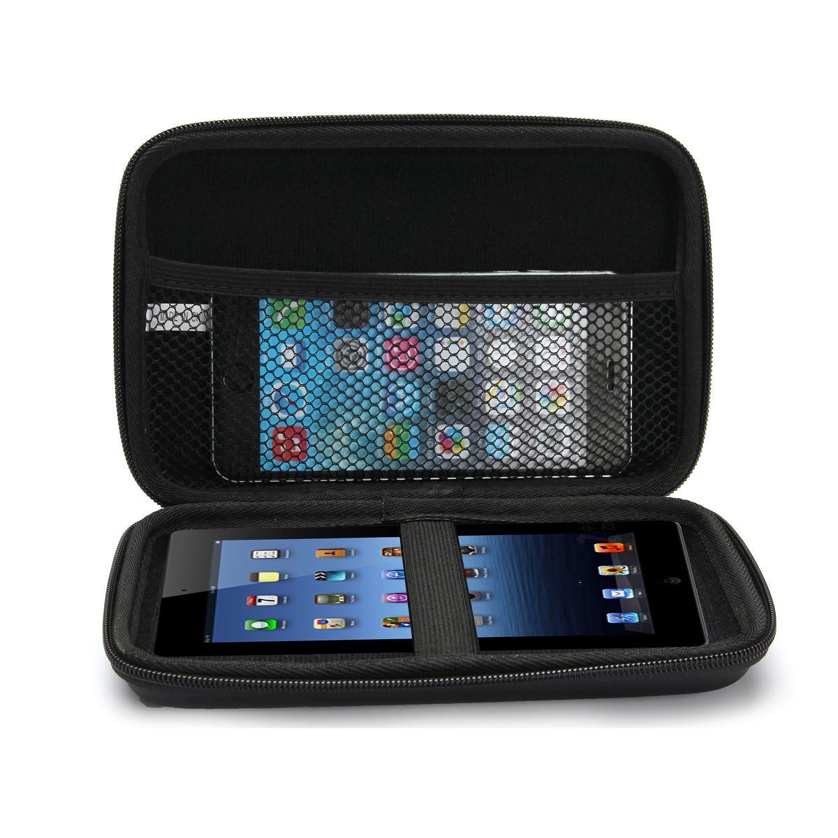 Buy Hard Carry Anti-Shock Travel Case Bag For 6/7 Inch GPS Navigation iPhone iPad Tablet Device