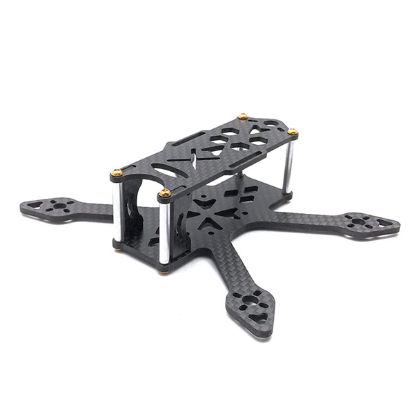 GP110 110mm 2.5mm Bottom Plate 3K Carbon Fiber Racing Frame Kit Support Runcam Micro Swift Camera