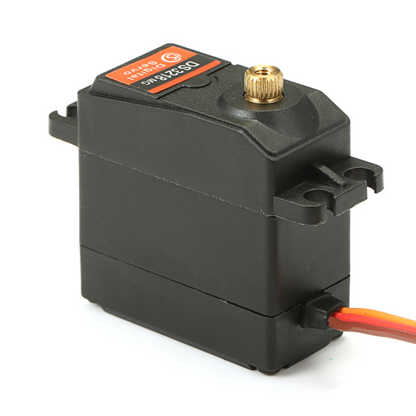DS3218 Updated Servo 15KG Torque Full Metal Gear Digital Servo - Photo: 7